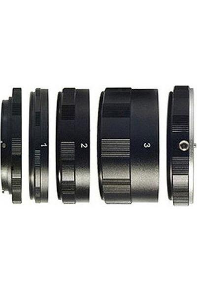 Ayex Olympus ve Panasonic M 4/3 Için Makro Uzatma Tüpü