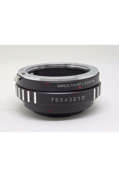 Ayex Canon Eos M Için Sony A Mount Lens Kullanım Adaptörü