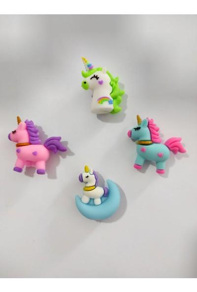 Cem Unicorn Kurşun Kalem Başlıkları Seti 4'lü