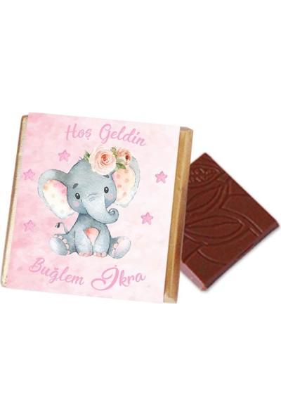 Hayal Sepetim Kız Bebek Çikolatası (72 Madlen)