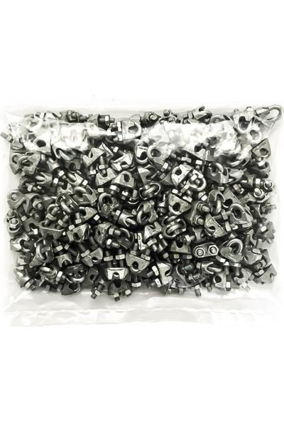 Emek Çelik Halat Galvanizli DIN 741 Klemens Kerye 5 mm 150 Adet