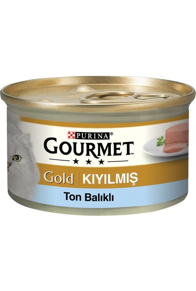 Gourmet Gold Kıyılmış Ton Balıklı 85 G x 2 Adet