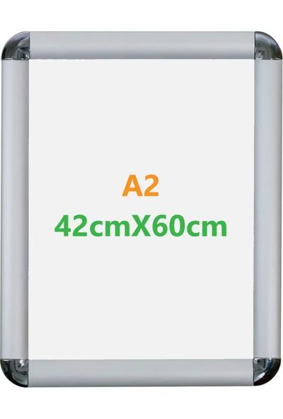 Özgürce Seç A2 Alüminyum Açılır Kapanır Rondo Çerçeve 42 x 60 cm