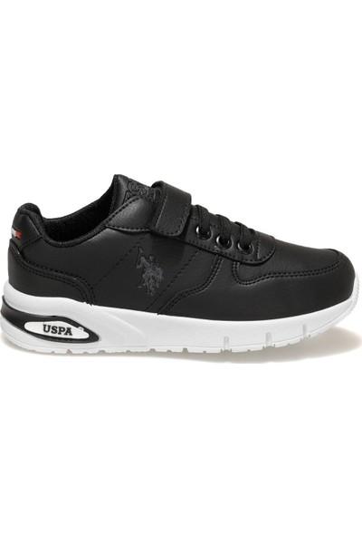 U.S. Polo Assn. Polly Siyah Erkek Çocuk Sneaker Ayakkabı