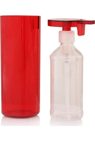 EW's Kitchenware Kırmızı Renk Sıvı Sabunluk