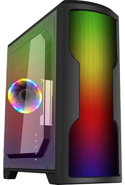 Dragos Shining 600W 80+ Power Rgb Full Color USB 3.0 Gaming Oyuncu Bilgisayar Kasası