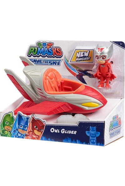 Pj Masks Pijamaskeliler Save The Sky Araçlar PJMC1000 - Owl-Glider