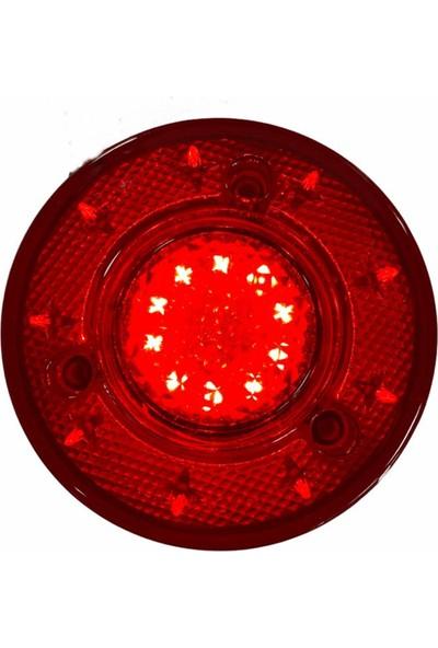 Ledshop 19 LED 2 Fonksiyon Stop Lamba Su Geçirmez 24 Volt 2 Adet