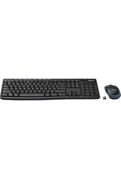 Logitech MK270 2.4 G Kablosuz Siyah Klavye Mouse Seti (Yurt Dışından)