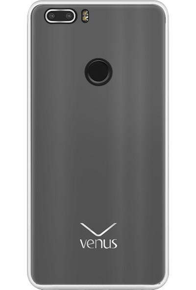 CepArea Vestel Venüs Z20 Kılıf Süper Silikon Kapak Şeffaf