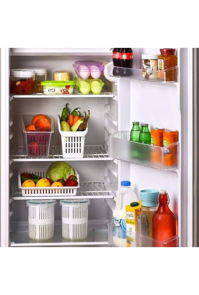 Plastart Buzdolabı Raf Düzenleyici Organizer