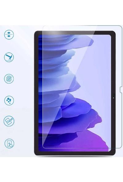 Wowlett Samsung Galaxy Tab A7 10.4 Inç SM-T500 (2020) Temperli Kırılmaz Cam Ekran Koruyucu Şeffaf