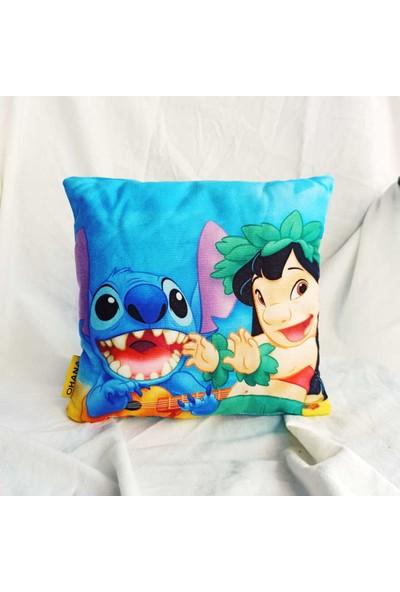 Makko Polo Ohana Lilo Stitch Yastık