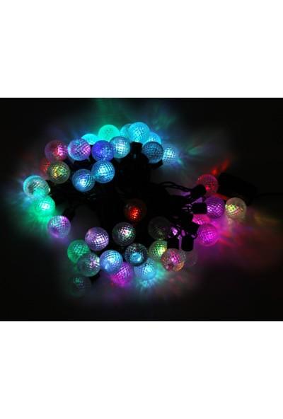 Dünya LED 6mt 40 Ledli Yuvarlak Yılbaşı Işığı