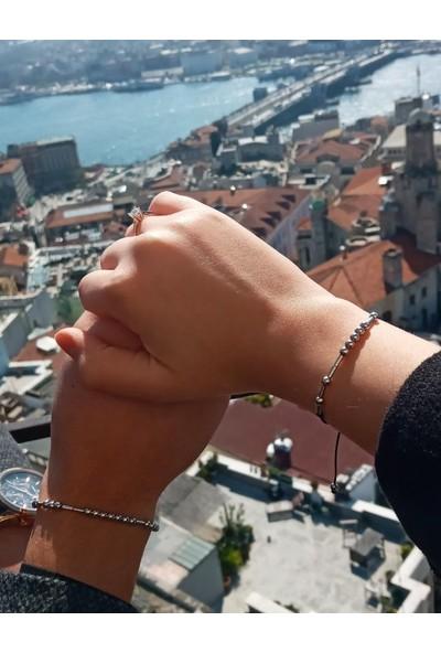 ZHayat Mors Alfabesi Sevgili Bilekliği Çift Kombin Ikili Bileklikler