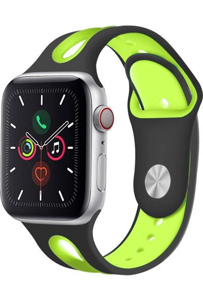 Promate Hipster-38SM Apple Watch Akıllı Saat Kordonu Silikon Yumuşak Tere Dayanıklı