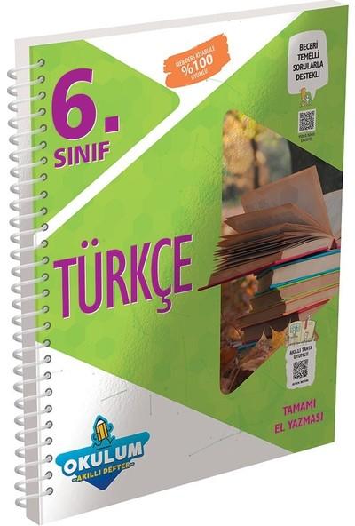 Muba 6. Sınıf Türkçe Okulum Akıllı Defter