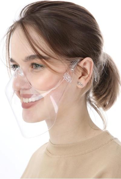 ÖzgürceSeç Şeffaf Maske Yikanabilir Yeniden Kullanabilabilir