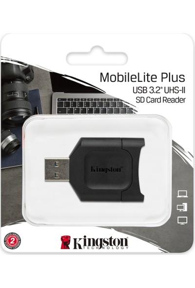 Kingston Mlp Mobilelite Plus USB 3.1 Sdhc-Sdxc Uhs-Iı Card Reader