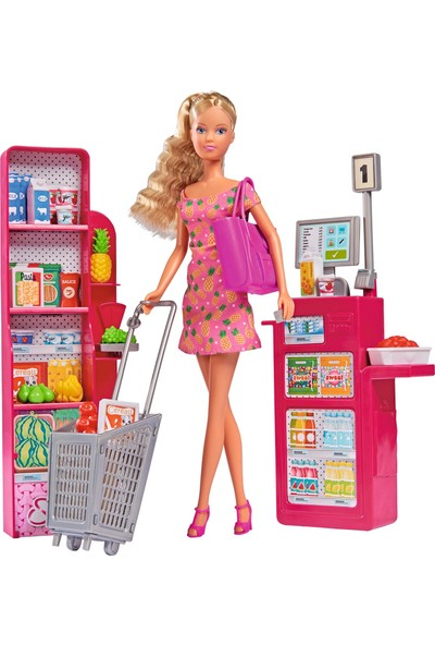 Simba Steffi Love Supermarket Seti
