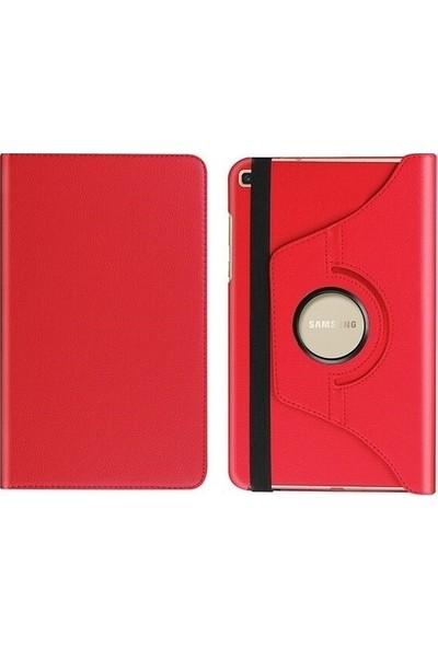 """CepLab Samsung Galaxy Tab A7 T500-T505-T507 Kılıf 10.4"""" 360° Ayarlanabilir Standlı Tablet Kılıfı Kırmızı"""