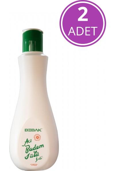 Bebak Acı Badem Sütü Şişe 215 ml x2 Adet