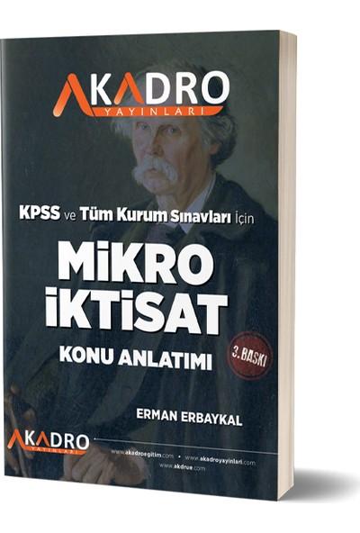 Mikro İktisat 3. Baskı -2021 - Erman Erbaykal