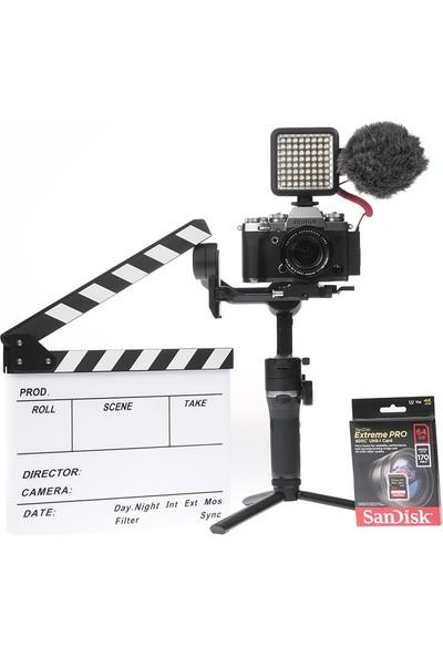 Fujifilm X-T3 Gümüş + Xf 18-55MM + Weebill-S Gimbal Videographer Kit