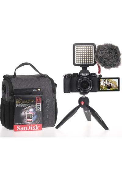Fujifilm X-S10 Siyah + Xf 18-55MM Vlogger Hazır Kit