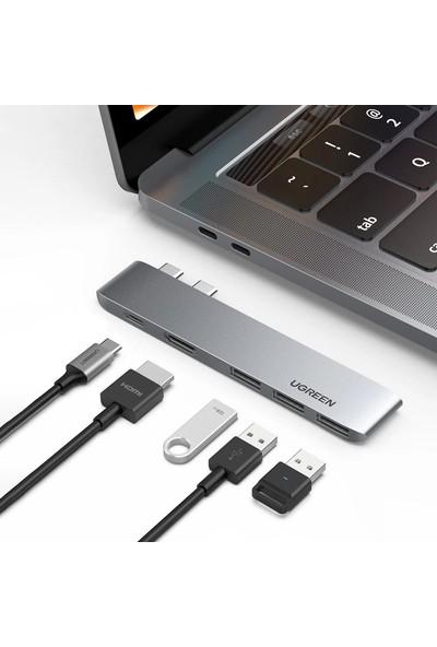 Ugreen Macbook Için Type-C USB HDMI Thunderbolt 3.0 Dönüştürücü Hub
