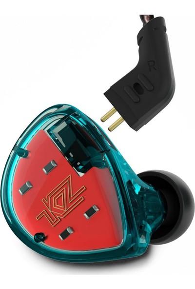Kz Es4 Ba + Dd Driver Kulak Içi Kulaklık Yeşil