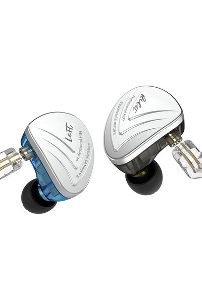 Kz AS16 8ba Balanced Armature Kulak Içi Kulaklık Mavi