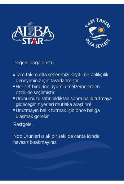 Albastar Tam Takım Profesyonel Surf Olta Seti TTS013