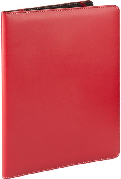 2K Suni Deri Diploma ve Sertifika Kabı 23 x 32 cm Kırmızı