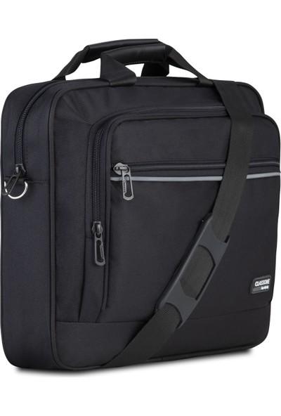 Classone TL3000 Business Serisi 15.6 Inch Uyumlu Notebook Çantası-Siyah