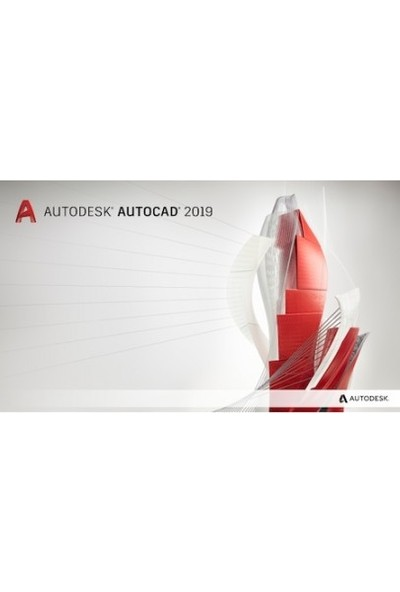 Autodesk Autocad 2019 Tam Sürüm 3 Yıl 5 Kullanıcı
