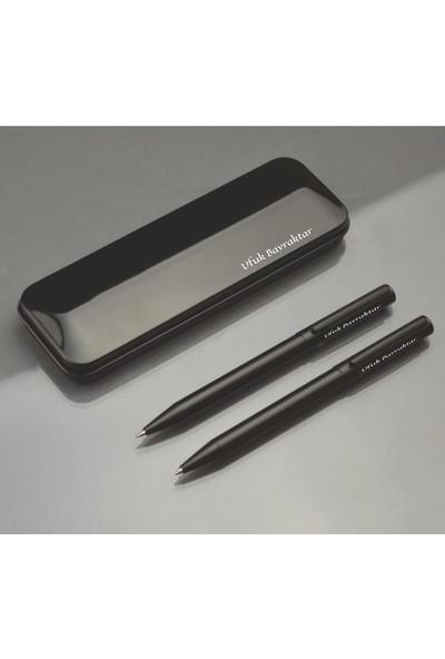 Baypen Kişiye İsme Özel Metal Kutulu Kalem 2'li Set