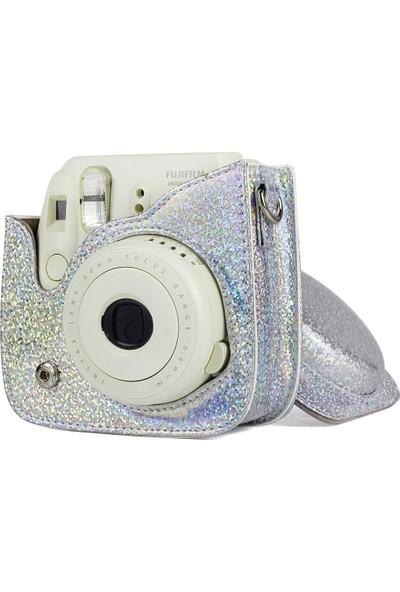 Trendfone Fujifilm Instax Mini 9 Simli Çanta + Albüm + Selfie Lensi Başlangıç Paketi