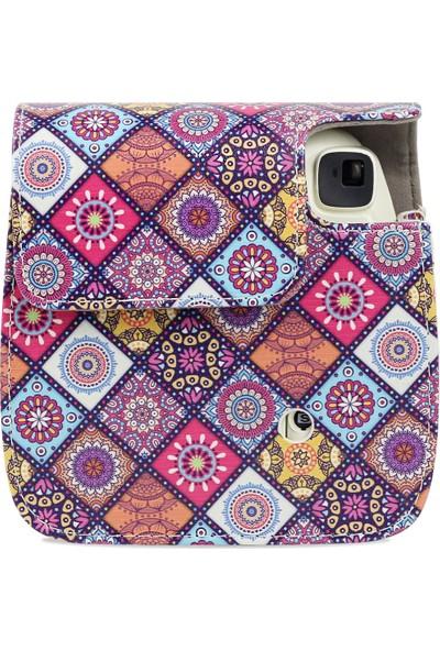 Trendfone Fujifilm Instax Mini 9 Kilim Desenli Çanta