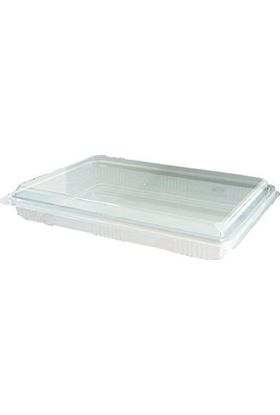 Pack Plastik 1000 gr Baklava Kabı 25 'li