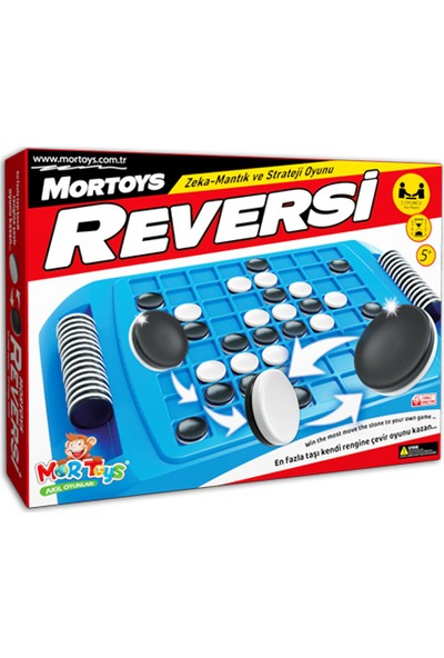 Mor Toys Reversi ( Plastik ) Mortoys