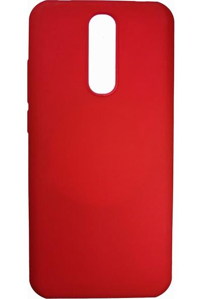 Elite Xiaomi Redmi 8 Kılıf Esnek Silikon Kılıf Kırmızı