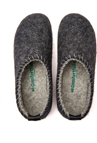 Comfortfüsse Füme Yün Mantar Tabanlı Unisex Ayakkabı-Yew