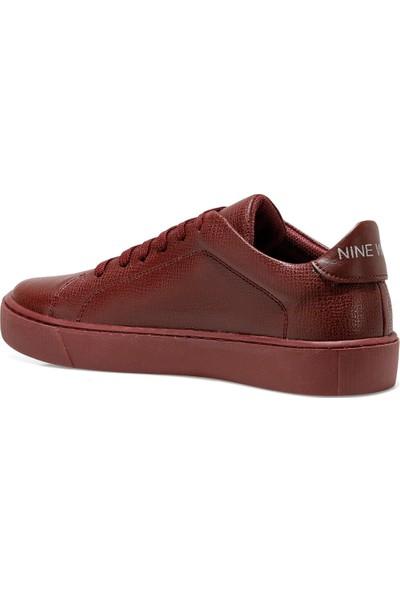 Nine West Bargel Bordo Kadın Sneaker