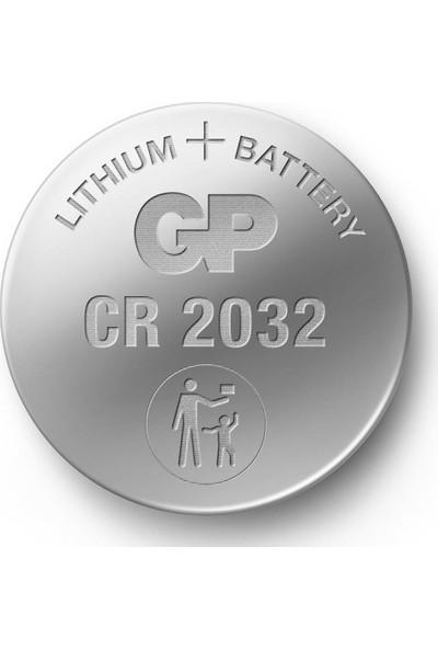 Gp CR2032 3V Lityum Düğme Para Pil 5 Li Paket
