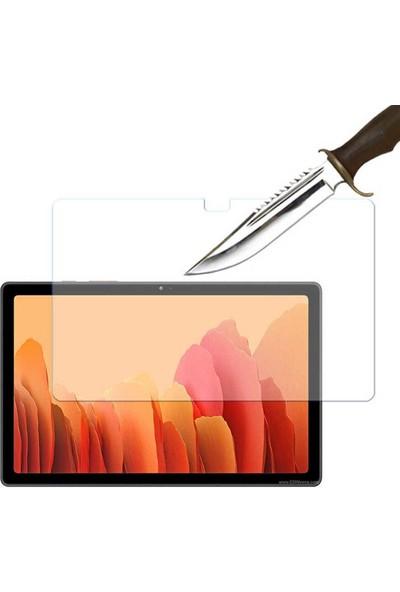 """Case 4U Samsung Galaxy Tab A7 SM-T500 10.4"""" Tablet Cam Ekran Koruyucu Nano Şeffaf"""