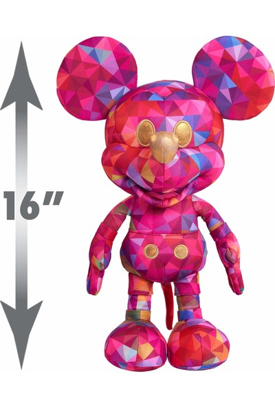 Disney Limited Edition Kaleidoscope Of Color Mickey Mouse Peluş