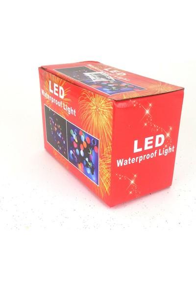 Genç Dijital Baskı Yılbaşı LED Süs Şekilli Siyah Kablo Suya Dayanıklı