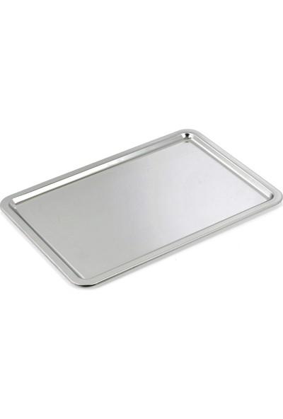 Özbir Paslanmaz Çelik Pastane Tepsisi No 5 53X33 cm