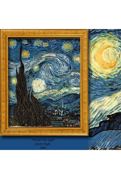 Cipcici Vincent Van Gogh Yıldızlı Gece Tek Kanat Blackout Perde
